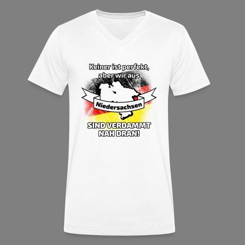 Perfekt Niedersachsen - Männer Bio-T-Shirt mit V-Ausschnitt von Stanley & Stella