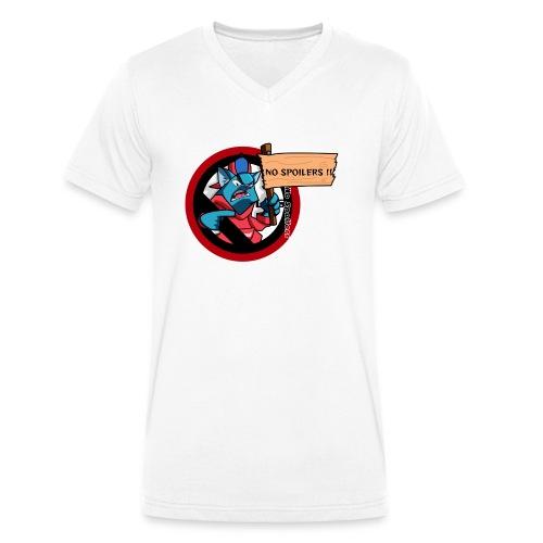 NO SPOILER CAT THUG - T-shirt bio col V Stanley & Stella Homme