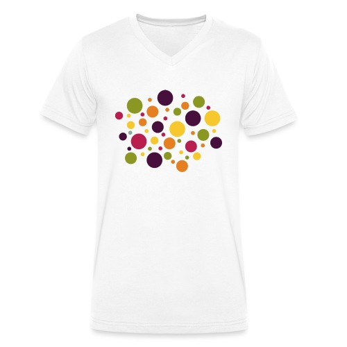 Dots are the new stripes - Männer Bio-T-Shirt mit V-Ausschnitt von Stanley & Stella