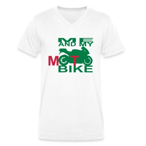 ME AND MY MOTOBIKE 2 - Männer Bio-T-Shirt mit V-Ausschnitt von Stanley & Stella