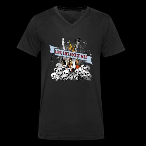 long live - Ekologisk T-shirt med V-ringning herr från Stanley & Stella