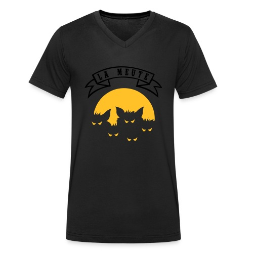la meute - T-shirt bio col V Stanley & Stella Homme