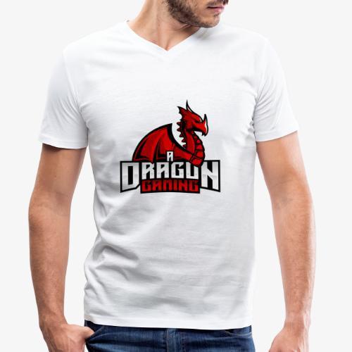 A Dragon Gaming Official Merch - Men's Organic V-Neck T-Shirt by Stanley & Stella