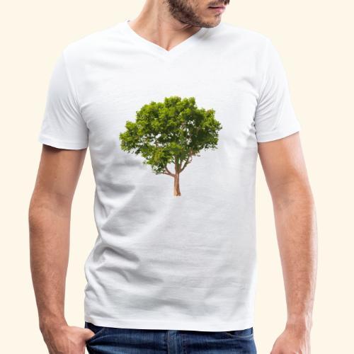 baum2 - Männer Bio-T-Shirt mit V-Ausschnitt von Stanley & Stella