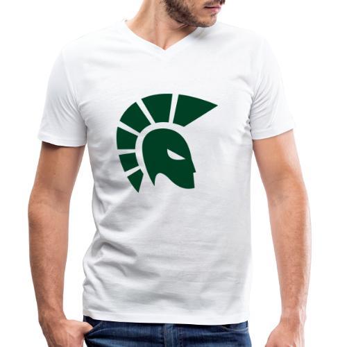 British Racing Green Centurion - Men's Organic V-Neck T-Shirt by Stanley & Stella