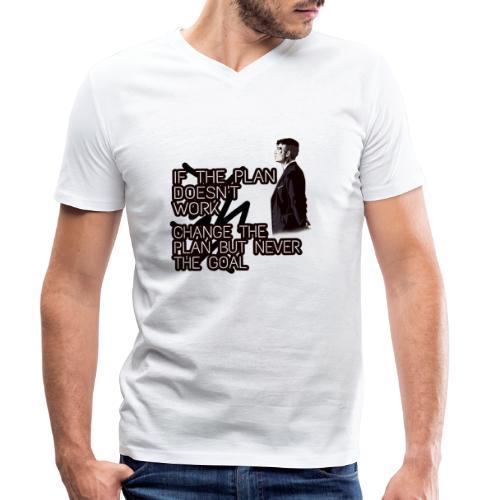 PicsArt 05 01 08 35 53 - Ekologisk T-shirt med V-ringning herr från Stanley & Stella