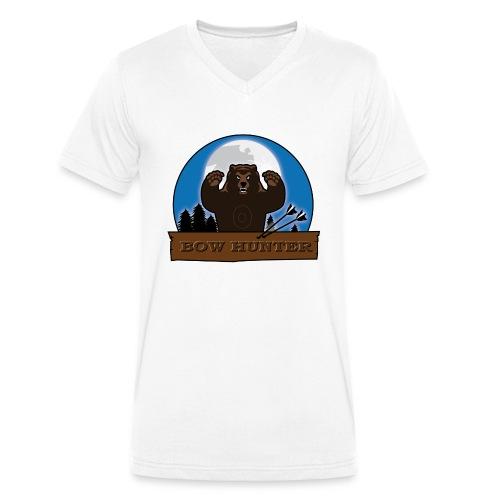 3D_bär - Männer Bio-T-Shirt mit V-Ausschnitt von Stanley & Stella
