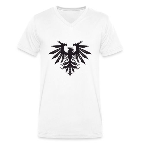 NEW Bird Logo Small - Men's Organic V-Neck T-Shirt by Stanley & Stella