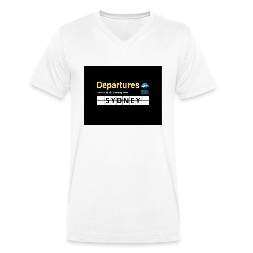 SYDNEY png - T-shirt ecologica da uomo con scollo a V di Stanley & Stella