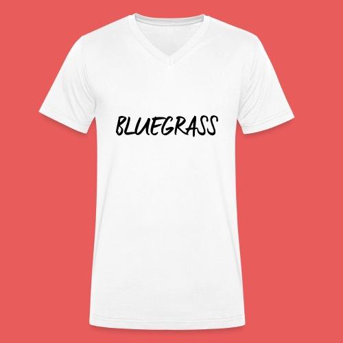 BLUEGRASS - Mannen bio T-shirt met V-hals van Stanley & Stella
