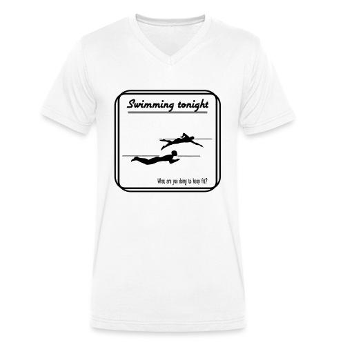 Swimming tonight - Stanley & Stellan miesten luomupikeepaita