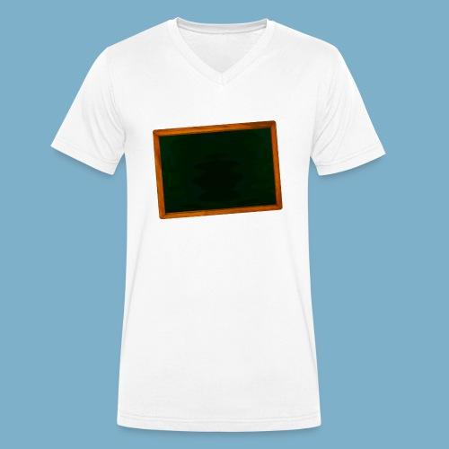 Schul Tafel - Männer Bio-T-Shirt mit V-Ausschnitt von Stanley & Stella