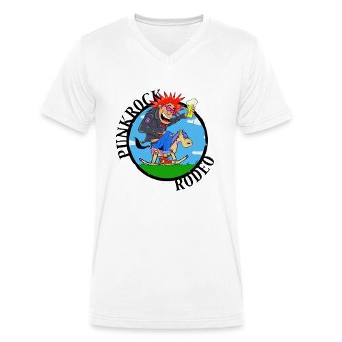 PUNKROCK RODEO - Männer Bio-T-Shirt mit V-Ausschnitt von Stanley & Stella