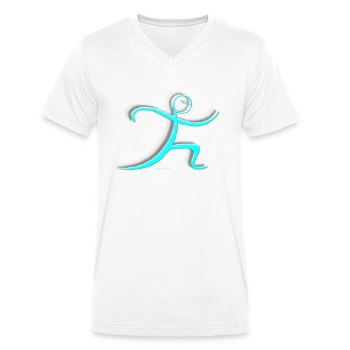 Tai Chi - einfache Peitsche - Männer Bio-T-Shirt mit V-Ausschnitt von Stanley & Stella