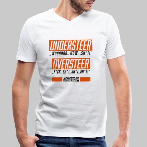 understeer oversteer - Männer Bio-T-Shirt mit V-Ausschnitt von Stanley & Stella