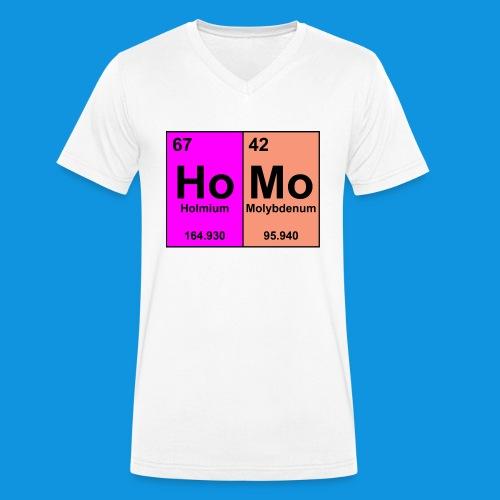 HoMo Tee - Men's Organic V-Neck T-Shirt by Stanley & Stella