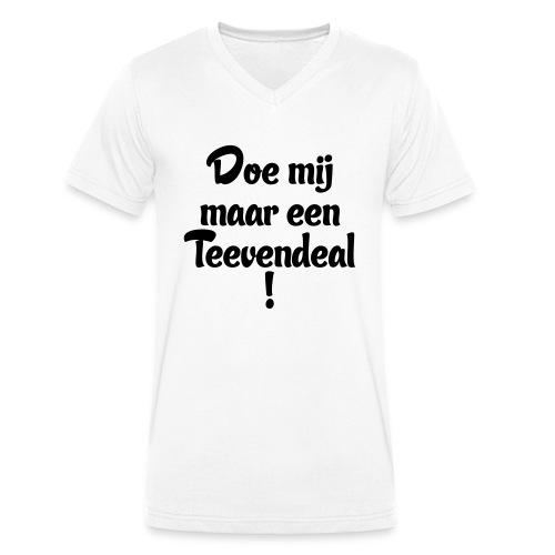 Teevendeal - Mannen bio T-shirt met V-hals van Stanley & Stella