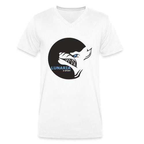 Lunaria_Logo tete pleine - T-shirt bio col V Stanley & Stella Homme
