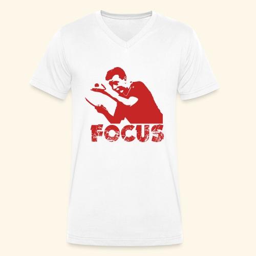 Focus on the GAME and Win the Championship - Männer Bio-T-Shirt mit V-Ausschnitt von Stanley & Stella
