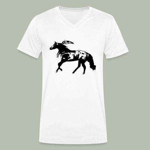 Appaloosa - Männer Bio-T-Shirt mit V-Ausschnitt von Stanley & Stella