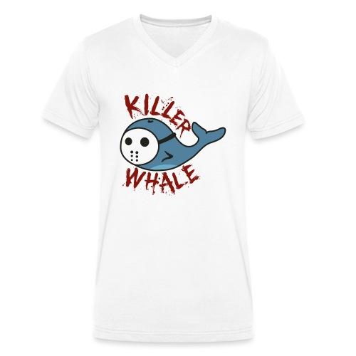 Killer Whale - Männer Bio-T-Shirt mit V-Ausschnitt von Stanley & Stella