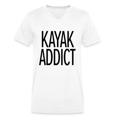 Kayak addict sweat-shirt Contraste - T-shirt bio col V Stanley & Stella Homme
