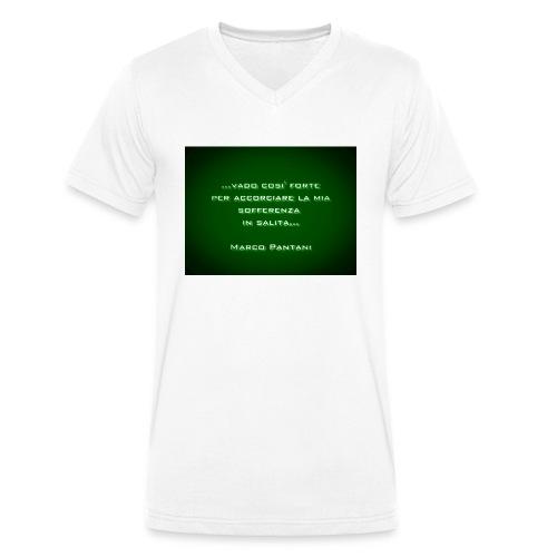 Citazione - T-shirt ecologica da uomo con scollo a V di Stanley & Stella