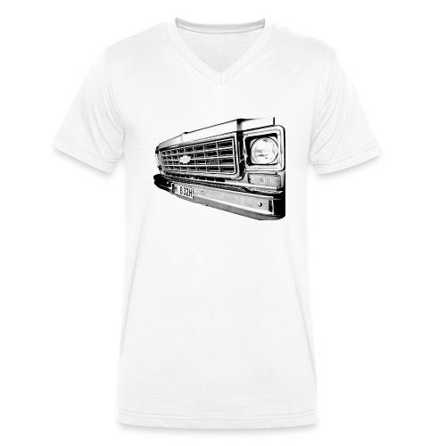Chevy - Männer Bio-T-Shirt mit V-Ausschnitt von Stanley & Stella