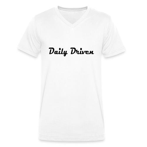Daily Driven Shirt - Mannen bio T-shirt met V-hals van Stanley & Stella