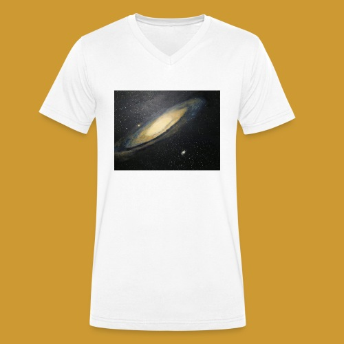 Andromeda - Mark Noble Art - Men's Organic V-Neck T-Shirt by Stanley & Stella