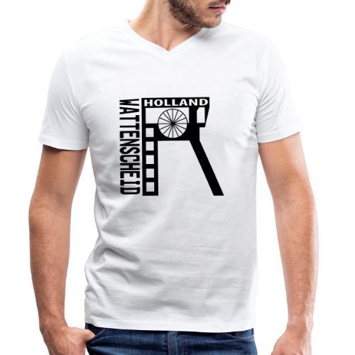 Zeche Holland (Wattenscheid) - Männer Bio-T-Shirt mit V-Ausschnitt von Stanley & Stella