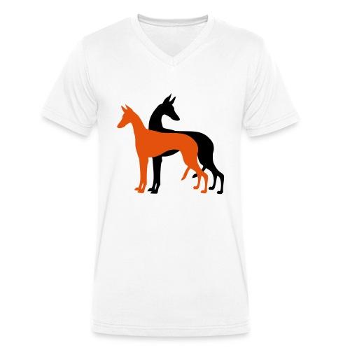 Podencos - T-shirt bio col V Stanley & Stella Homme
