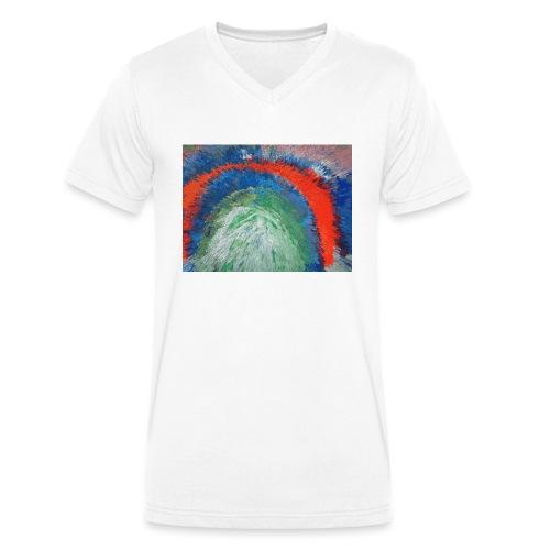 NACH OBEN - Männer Bio-T-Shirt mit V-Ausschnitt von Stanley & Stella
