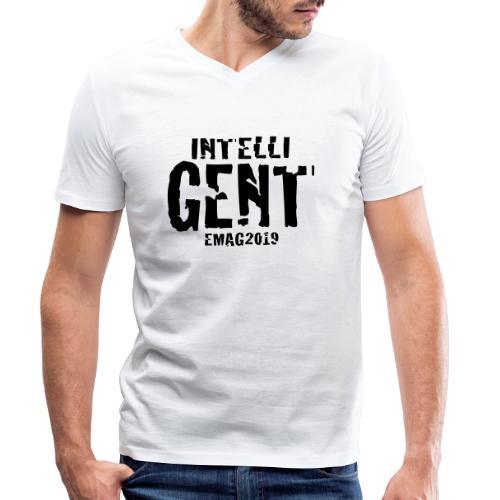 Intelli-Gent - Men's Organic V-Neck T-Shirt by Stanley & Stella