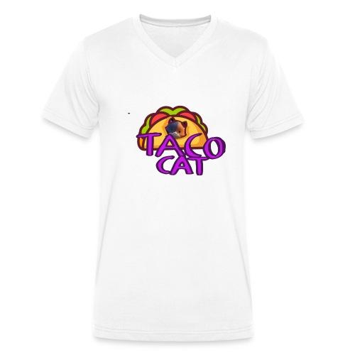 TACO CAT - Ekologisk T-shirt med V-ringning herr från Stanley & Stella
