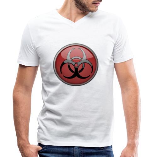 DANGER BIOHAZARD - Männer Bio-T-Shirt mit V-Ausschnitt von Stanley & Stella