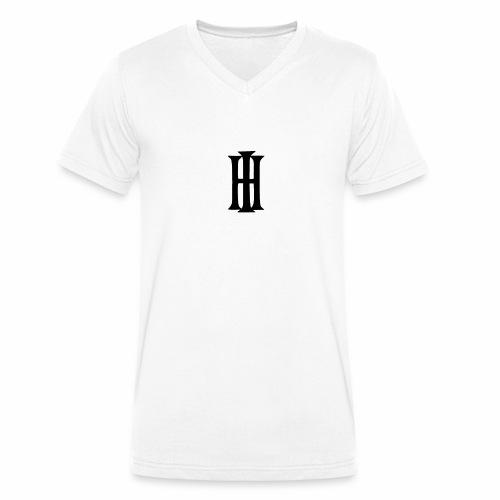 HI Design 1 gif - Männer Bio-T-Shirt mit V-Ausschnitt von Stanley & Stella