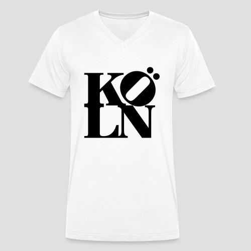 KOELN - Männer Bio-T-Shirt mit V-Ausschnitt von Stanley & Stella