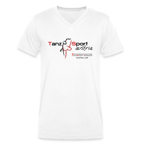 Logo OTSV V1 Austria gif - Männer Bio-T-Shirt mit V-Ausschnitt von Stanley & Stella