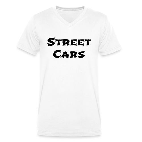 Street Cars 2 - Mannen bio T-shirt met V-hals van Stanley & Stella