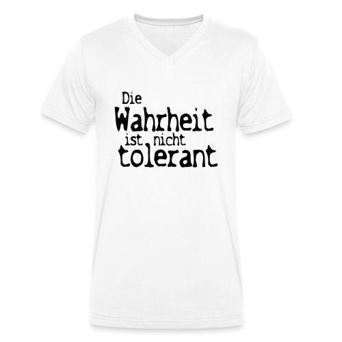 tolerant (JESUS-shirts) - Männer Bio-T-Shirt mit V-Ausschnitt von Stanley & Stella