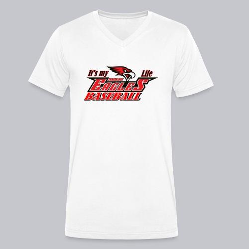 it s my life - Männer Bio-T-Shirt mit V-Ausschnitt von Stanley & Stella