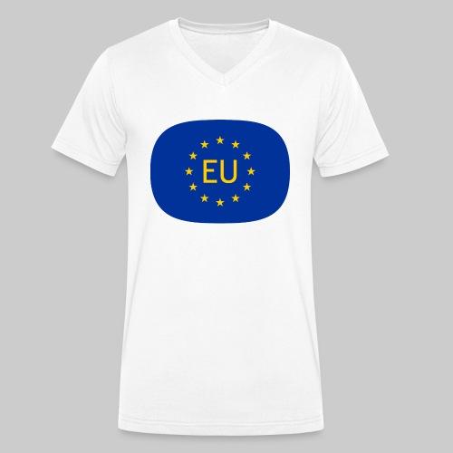 VJocys European Union EU - Men's Organic V-Neck T-Shirt by Stanley & Stella