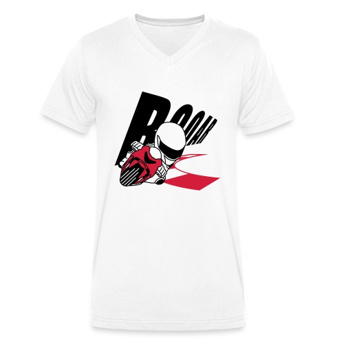 MOTO GP ROAR - Männer Bio-T-Shirt mit V-Ausschnitt von Stanley & Stella