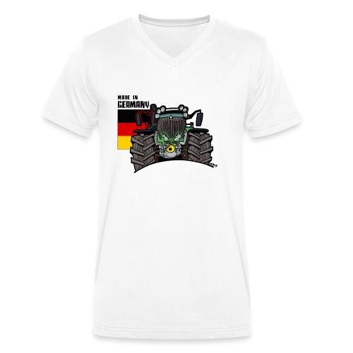 made in germany F - Mannen bio T-shirt met V-hals van Stanley & Stella