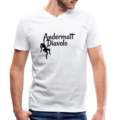 Andermatt Diavolo Uri Geschenkidee - Männer Bio-T-Shirt mit V-Ausschnitt von Stanley & Stella