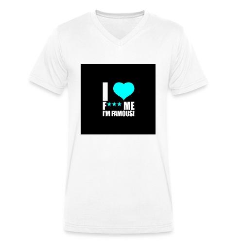 I Love FMIF Badge - T-shirt bio col V Stanley & Stella Homme
