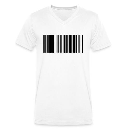 Laurent Barcode - T-shirt bio col V Stanley & Stella Homme