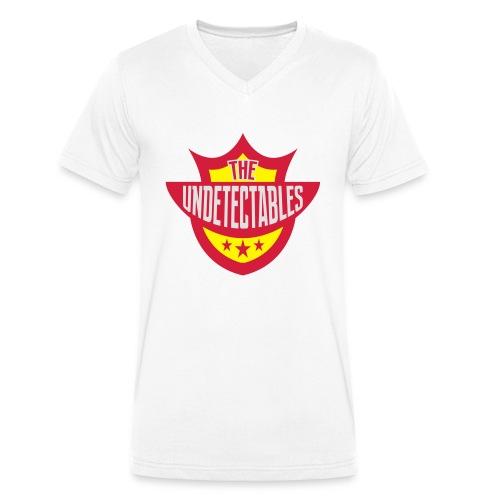 Undetectables voorkant - Mannen bio T-shirt met V-hals van Stanley & Stella