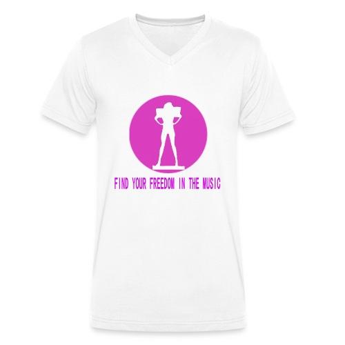 DANCE IN THE DARK unisex - Camiseta ecológica hombre con cuello de pico de Stanley & Stella
